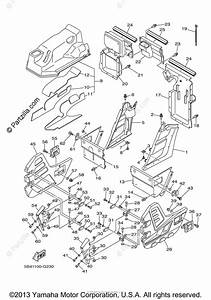 Yamaha Side By Side 2008 Oem Parts Diagram For Side Cover