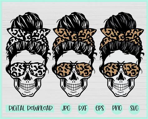 We currently have 47 different messy bun skull svg items available on creative fabrica. Leopard Mom life Skull svg Messy bun skull svg Mom life ...