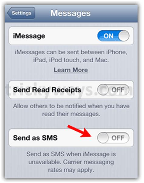 iphone message not delivered how to set iphone to send imessages instead of texts