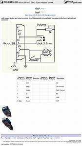 Microusb To 3 5 Or 2 5 Jack Headset Pinout Diagram   Pinoutguide Com