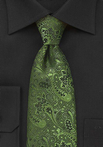 olive green  black floral tie bows  tiescom