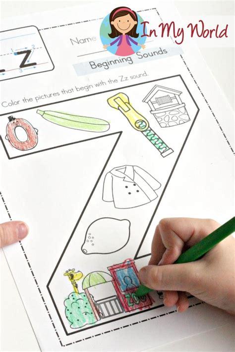 preschool letter z in my world 619 | Preschool Letter Z 2