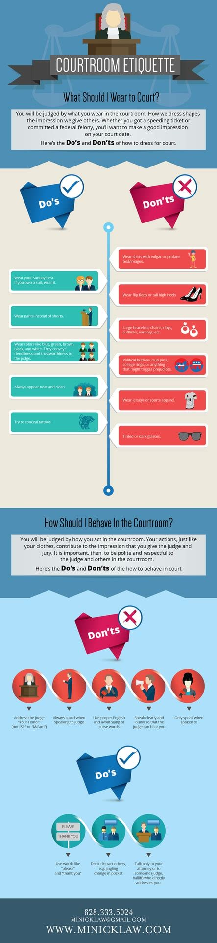 Courtroom Etiquette How To Dress For Court & How To Behave In Court Visually