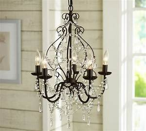 paige crystal chandelier pottery barn With chandeliers at pottery barn