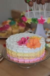 Luau on Pinterest Luau Birthday Cakes, Luau Cakes and