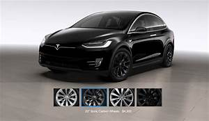 Tesla Modèle X : tesla model x gets a 20 sonic carbon wheel and center console option ~ Medecine-chirurgie-esthetiques.com Avis de Voitures