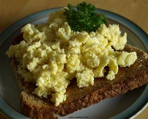 Scrambled Eggs - CookUK Recipes