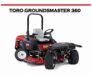 Free Toro Groundsmaster 3500