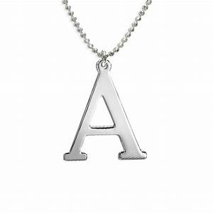 Capital letter necklace by anna lou of london for Capital letter necklace