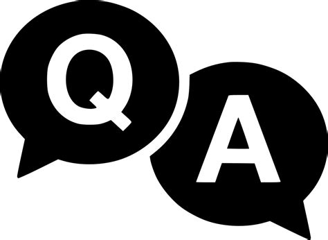 questions answers svg png icon