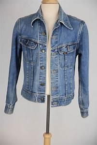 Mens Vtg 50s 60s Greaser Motorcycle Distressed Medium Wash Denim Jean Jacket M | eBay