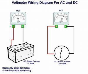 Alternator To Voltmeter Wiring Diagram