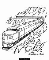 Coloring Train Pages Csx Bold Trains Printable Getcolorings Railroads sketch template