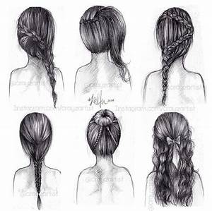 hand-drawing hair styles | Favorite Hair Styles ...