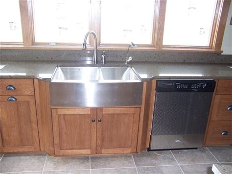 laminate countertop with farmhouse sink countertop styles materials ds woods custom cabinets