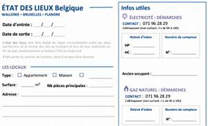 Imprimer Constat Amiable : mod le d tat des lieux gratuit pour la belgique wallonie bruxelles flandre ~ Gottalentnigeria.com Avis de Voitures