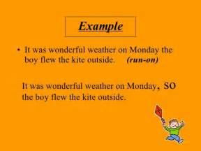 correcting run on sentences worksheets 4th grade run on