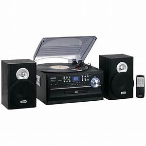 Radio Cd Kassette : new jensen 3 speed home stereo cd record cassette player ~ Jslefanu.com Haus und Dekorationen