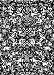 22 best images about Black & White Psychedelic on ...