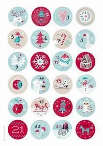 Adventskalender Zahlen Mathe : zahlen f r den diy adventskalender zum ausdrucken weihnachten advent advent calenders und ~ Indierocktalk.com Haus und Dekorationen