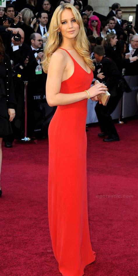 Jennifer Lawrence - Oscars 2011 | Oscar dresses, Dresses ...