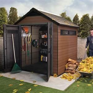 Abri Jardin Keter : abri de jardin composite keter m mm fusion ~ Edinachiropracticcenter.com Idées de Décoration