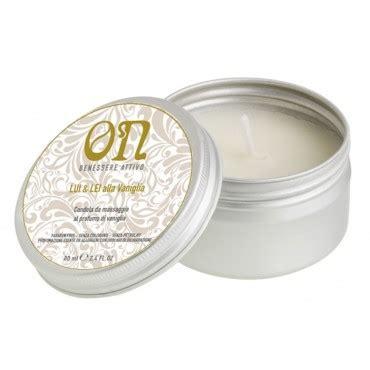 candela da massaggio candele da massaggio