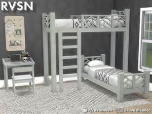sims resource    bed bunk bed series
