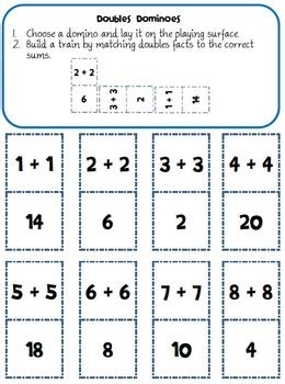 exploring  doubles strategy  addition