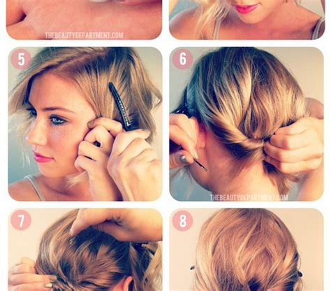 Short Hairstyles: Free Simple Diy Hairstyles For Short