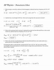 Light Worksheet Wavelength Frequency And Energy Answers Assessment Https Cms Psu Edu Section Assessment Delivery