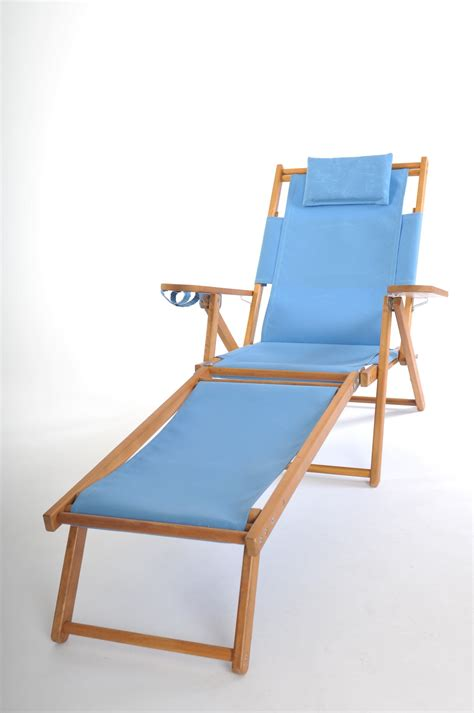 nauset recliner with footrest cape cod beach chair company