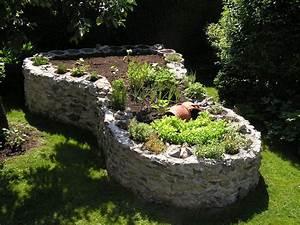 Hochbeet Aus Stein Selber Bauen : hochbeet aus stein ausgefallene hochbeete pinterest ~ Lizthompson.info Haus und Dekorationen