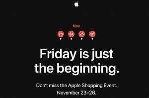 Four Encastrable Black Friday : apple to hold four day shopping event starting on black ~ Melissatoandfro.com Idées de Décoration