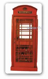 Englische Telefonzelle Deko : englische telefonzelle wein vitrine schrank deko neu ebay ~ Frokenaadalensverden.com Haus und Dekorationen