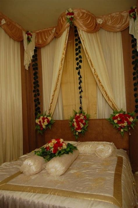 wedding decorations for bedroom wedding bedroom decoration ideas with beige brown color themed and fresh flowers