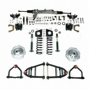 Mustang Ii Ifs Kit With Power Steering Rack For 49