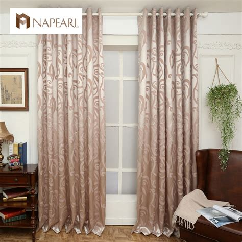 aliexpress buy semi blackout curtains blind jacquard
