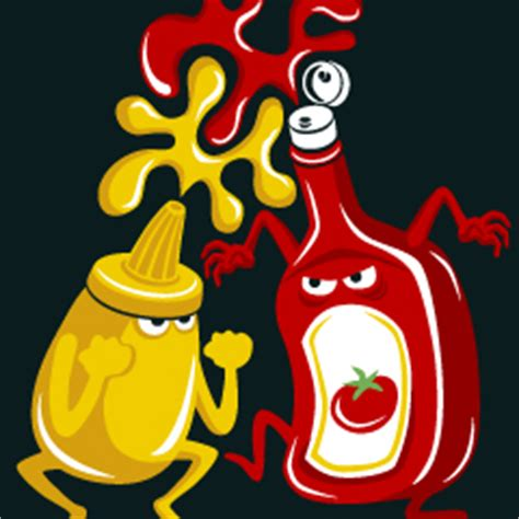 The Curious Zealot: The Big Condiments Battle: Mustard or ...