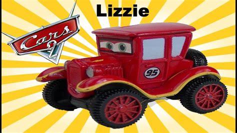 Disney Cars Lizzie Mini Adventures Lightning Mcqueen Race