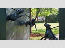 Racist Dogs Sculpture, Birmingham, Alabama