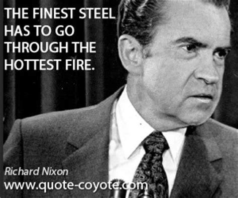 richard nixon  finest steel
