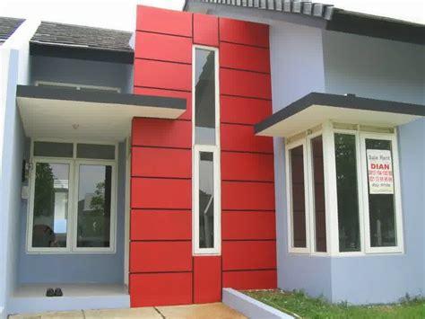 kumpulan desain rumah cantik  elegan warna cat rumah