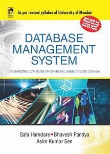 Database Management System By Safa Hamdare