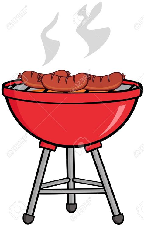 Bbq Clipart Free Barbecue Clipart Bbq Smoke Pencil And In Color Barbecue