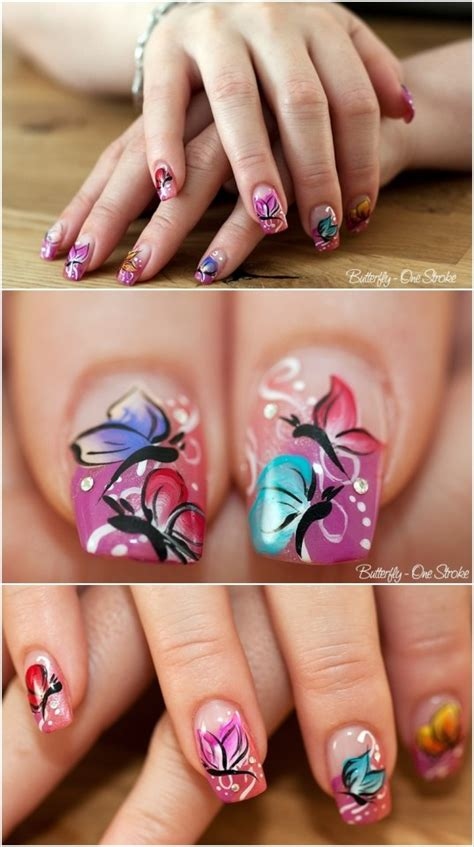 butterfly nail designs 16 butterfly nail designs for the season pretty designs