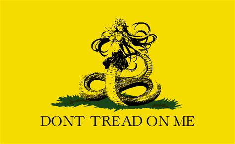 Don T Tread On Me Memes - don t tread on miia gadsden flag don t tread on me know your meme