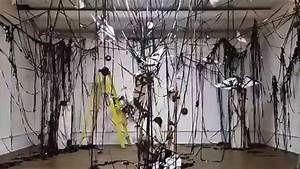 Making Of Installation Art  U0026quot Rewinding U0026quot  Timelapse Video