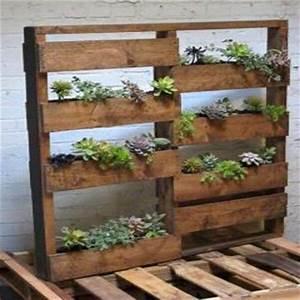 Recycled Pallet Wood Garden Planters Pallet Furniture DIY