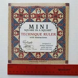 Mini Square In A Square Technique Ruler By Jodi Barrows W